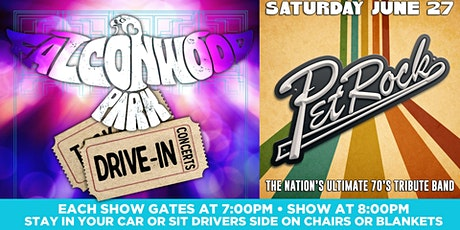 Pet Rock Drive-in Concert at Falconwood Park tickets