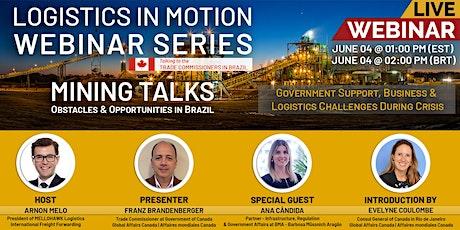 WEBINAR - MINING TALKS: Obstacles & Opportunities in Brazil tickets