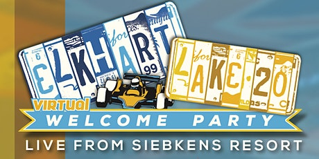 """Elkhart Lake """"Virtual""""  Welcome Party Benefiting Racing For Kids tickets"""