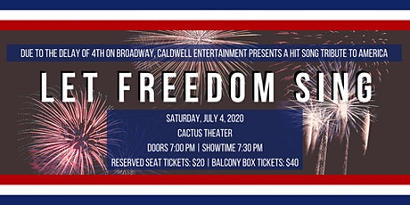 Hit Song Tribute to America: Let Freedom Sing tickets