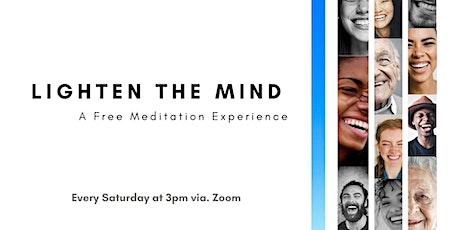 Lighten Your Minds!!! (Online Meditation) tickets