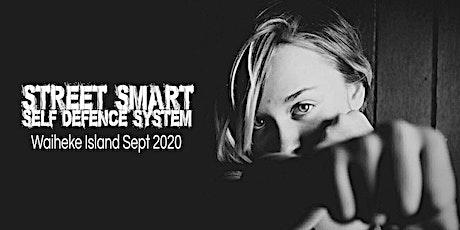 Women's Street Smart Self-Defence Workshop - Waiheke Island Sept 2020 tickets