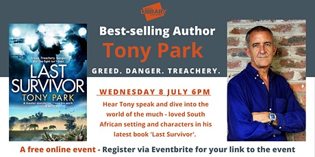 Best-selling Author- Tony Park tickets