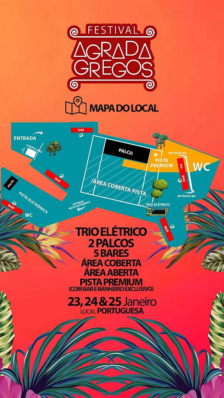 Imagem do evento Festival Agrada Gregos 2021 na Portuguesa • 50 atrações • 3 dias