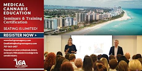 Florida Medical Marijuana Dispensary Training Seminar - Live Webinar tickets