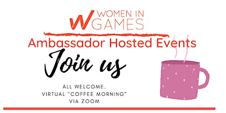 Women In Games Virtual Meet Up with Leanne Loombe tickets