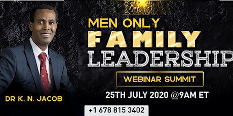 Family Leadership - Men Only tickets
