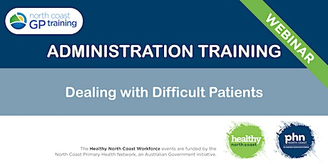 Dealing With Difficult Patients tickets