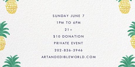 Art  Edible World Sunday Funday tickets