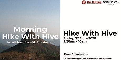 [Morning] Hike with Hive in collaboration with The Hutong tickets