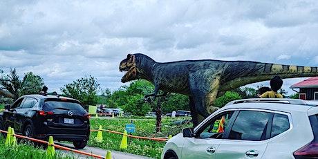 Dinosaur Drive-Thru:  Wednesday June 10th  - COVID 19 Safe tickets
