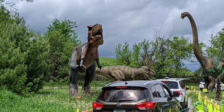 Dinosaur Drive-Thru:  Thursday June 11th  - COVID 19 Safe tickets