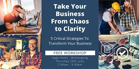 Take Your Business From CHAOS to CLARITY tickets