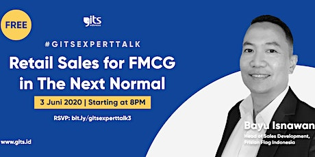 FREE Webinar : Retail Sales for FMCG in The Next Normal tickets