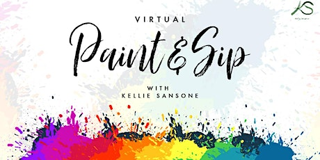 Virtual Paint & Sip tickets