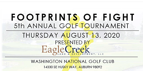 Footprints of Fight 5th Annual Golf Tournament tickets