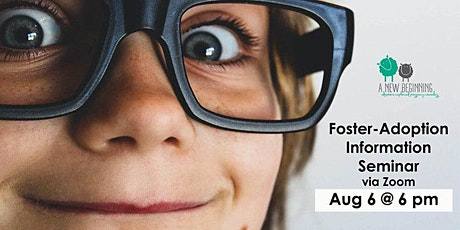 Foster-Adoption Information Seminar via Zoom tickets