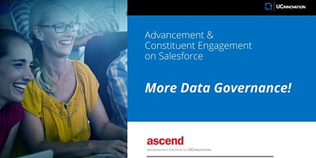 More Data Governance! tickets