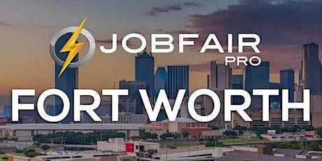 Fort Worth Virtual Job Fair September 9 2020 tickets