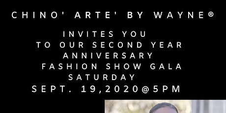 Chino Arte Anniversary Fashion Gala tickets