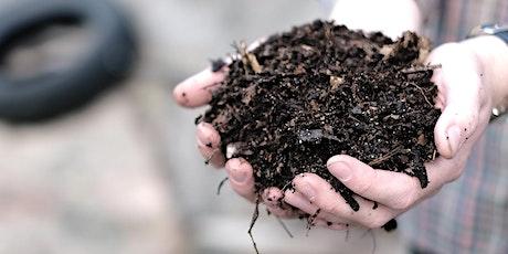 Organic Gardening Basics - Healthy soil tickets