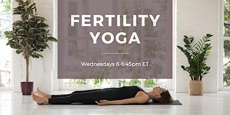 Fertility Yoga tickets