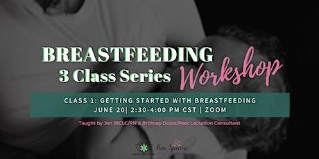 Breastfeeding Workshop: 3 Class Series - Class 1: Getting Started tickets