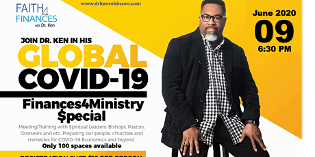 Global COVID-19 Finances4Ministry Special tickets
