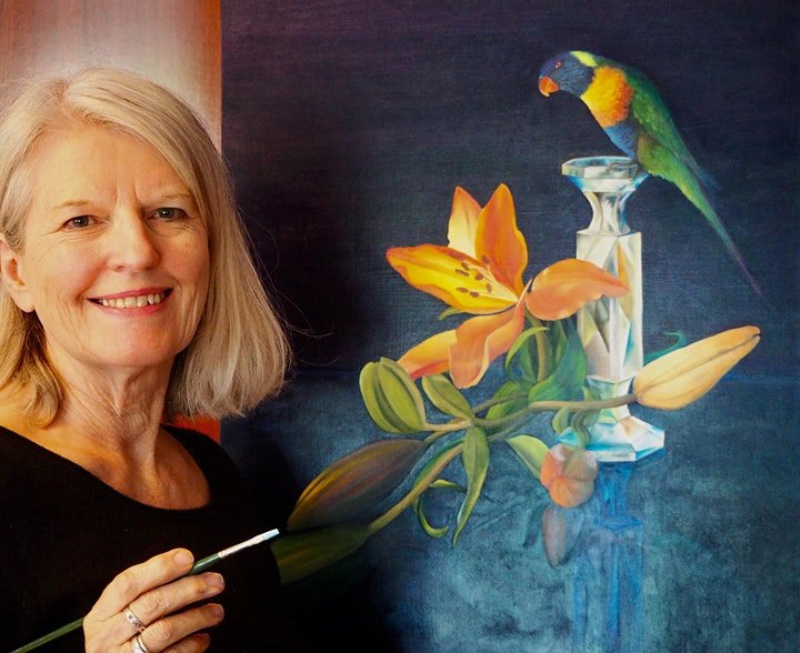 Foundations in Oil Painting with Catherine Ketton (Sunday, 6 Week Course) image