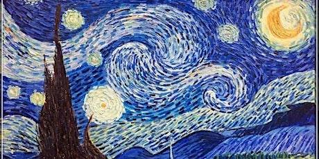 Van Gogh Starry Night - The Boardwalk Bar & Nightclub (July 26 6pm) tickets