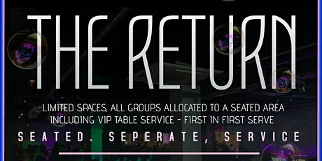 THE RETURN 2020  - OH SEVEN NIGHTCLUB FRI 5TH JUNE tickets