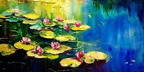 Monet Water Lilies - The Boardwalk Bar & Nightclub (August 2 6pm) tickets