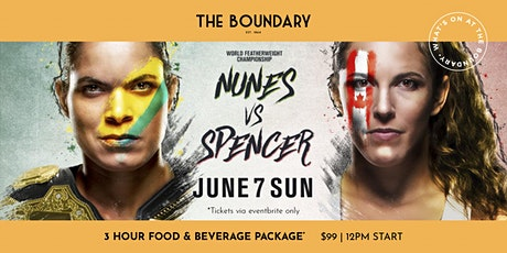 Watch UFC at the Boundary tickets