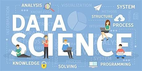 4 Weeks Data Science Training in Fayetteville | June 8, 2020 - July 1, 2020 tickets