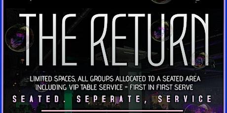 THE RETURN 2020 - OH SEVEN NIGHTCLUB /SAT 6TH JUNE tickets