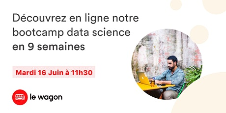 Formation en Data Science : Session d'information du Wagon Marseille billets