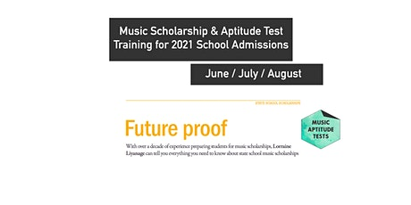 Online Tutoring: Music Scholarship & Music Aptitude Test 1-to-1 Lessons tickets