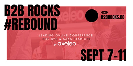 B2B Rocks 2020 - Leading online conference for B2B & SaaS startups tickets