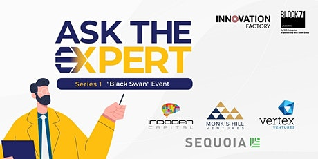 """Ask The Expert Series 1 with Indogen Capital """"Black Swan"""" Event tickets"""