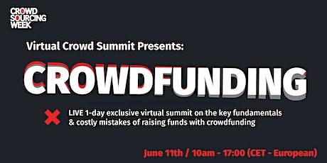 Virtual Crowd Summit: Crowdfunding tickets