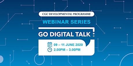 Go Digital Talk Webinar Series - June 2020 tickets