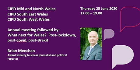 Annual meeting followed by guest speaker : What next for Wales? tickets