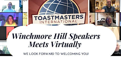 Toastmasters International -  Winchmore Hill Speakers Virtual Meeting tickets