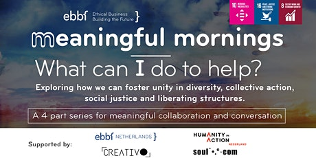 EBBF Meaningful Morning Series: How can I Help? tickets