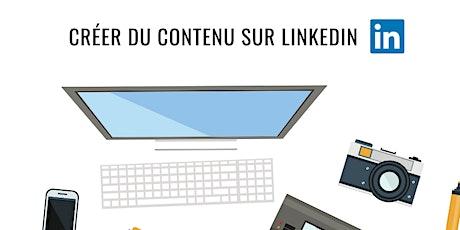 WEBINAR: Développer une stratégie de contenu sur Linkedin billets