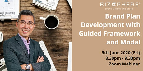 FREE Webinar: Brand Plan Development with Guided Framework And Modal tickets