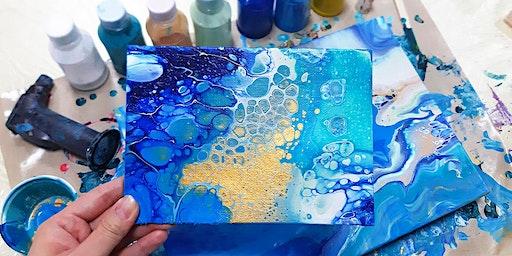 Acrylic Pour Online Workshop