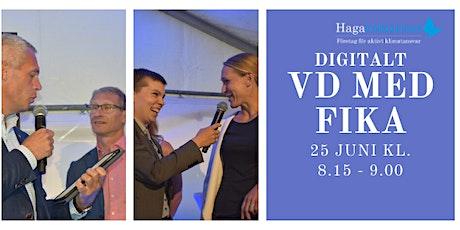 Digitalt VD med fika tickets