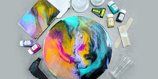Resin Canvas Virtual Workshop