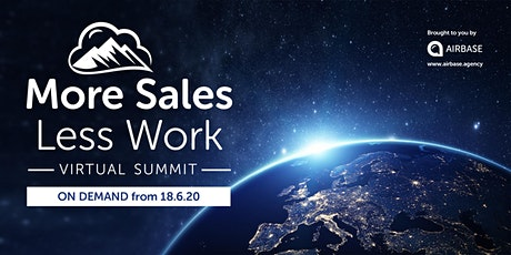 More Sales Less Work Summit tickets